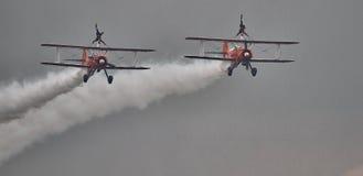 Дисплей Brietling Wingwalkers Стоковые Фото