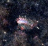 Дистантное межзвёздное облако космоса Стоковое фото RF