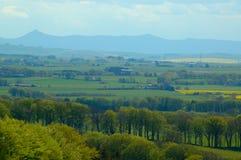 дистантные гористые местности Стоковое Изображение RF