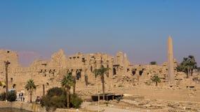 Дистантный взгляд древнего храма Стоковое Изображение RF