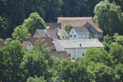 дистанционное малое село стоковое изображение rf
