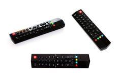 Дистанционное управление TV изолированное на белой предпосылке стоковые фотографии rf