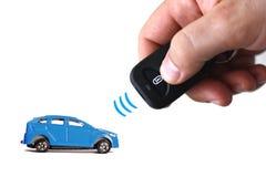 Дистанционное управление автомобиля Стоковые Фотографии RF