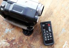 Дистанционное управление видеокамеры Стоковые Изображения RF