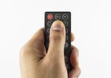 Дистанционное управление ключа помощи Стоковые Фотографии RF