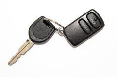 Дистанционный ключ автомобиля Стоковые Фотографии RF