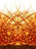 диффузия 2 золотистая Стоковое Изображение