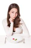 Дилемма диеты стоковое изображение