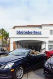Дилерские полномочия автомобиля Мерседес-Benz Стоковые Фотографии RF