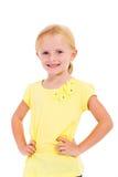 Длина маленькой девочки половинная стоковое фото
