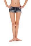 Длинние милые ноги женщины Стоковые Изображения RF