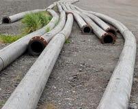 длинние трубы металла Стоковая Фотография RF