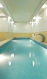Длинний бассеин в sauna Стоковые Изображения RF
