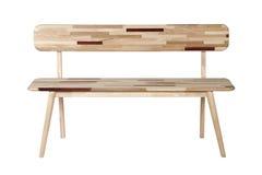 Длинний деревянный стул Стоковые Фотографии RF