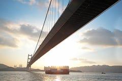 Длинний мост Стоковые Фото