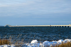 Длинний мост Стоковое Изображение