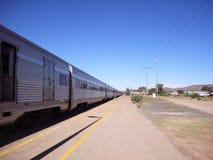 длинний поезд Стоковые Фото