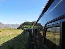 длинний поезд Стоковые Фотографии RF