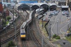 длинний поезд Стоковое Изображение RF