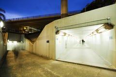 длинний тоннель Стоковые Фотографии RF