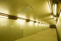 длинний тоннель Стоковое Изображение RF
