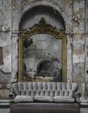 Длинное потерянное от прошлого зеркала стоковые изображения rf