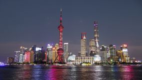 Длинный день каникул в октябре длинных праздников в Шанхае на Oc стоковые фото