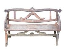 Длинный деревянный стул с деревянным Стоковые Фото