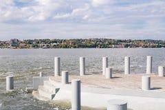 Длинный парк дока Стоковая Фотография RF