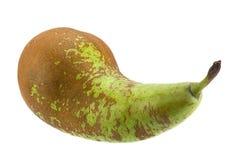 Длинный плодоовощ груши на белизне Стоковые Фото