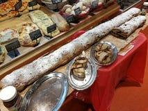 Длинный сэндвич nutella стоковые фото