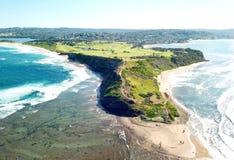 Длинный Headland рифа стоковые изображения rf