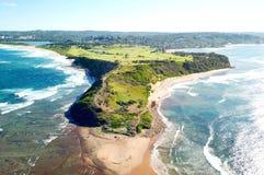 Длинный Headland рифа стоковые фотографии rf