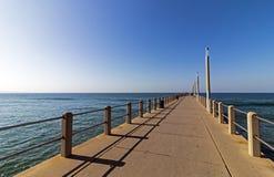 длинняя пристань стоковая фотография rf