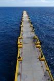 длинняя пристань Стоковая Фотография