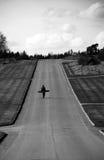 длинняя прогулка Стоковые Фото
