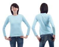 Длинняя рубашка втулки Стоковое Изображение RF