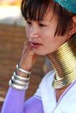 длинняя триба Таиланда шеи Стоковое фото RF