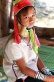 длинняя триба Таиланда шеи Стоковые Фотографии RF