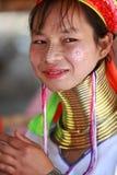 длинняя триба Таиланда шеи стоковая фотография