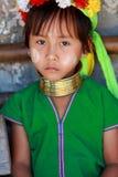 длинняя триба Таиланда шеи Стоковое Изображение RF