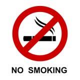 Для некурящих, знак сигареты - бесплатная иллюстрация