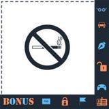 Для некурящих квартира значка бесплатная иллюстрация