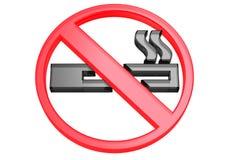 для некурящих символ иллюстрация вектора