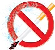 Для некурящих стоковые фотографии rf