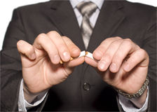 для некурящих стоковая фотография rf