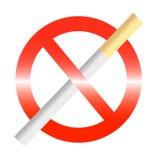 для некурящих иллюстрация штока