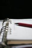 дневник дела Стоковая Фотография RF
