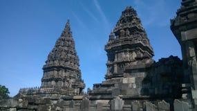 Дневной свет виска Prambanan Стоковая Фотография RF