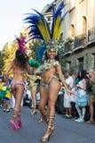 Дни Бразилии Стоковая Фотография